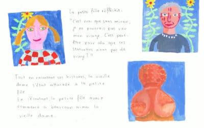 UN CONTE POUR LES ENFANTS – une nouvelle page